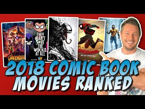 All 8 2018 Comic Book Movies Ranked!  (MCU, DCEU, X-Men & More)
