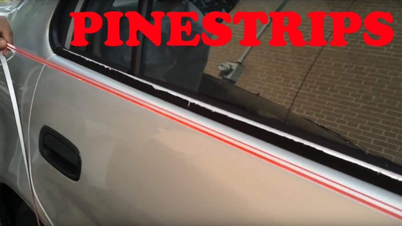 How to install pinstripes