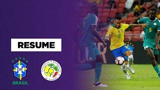 Amical : Neymar et le Brésil coincent face au Sénégal