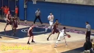 Michael Carter III district game highlights odea vs Rainer beach
