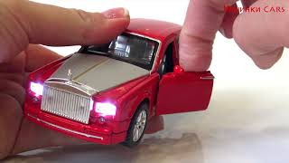Rolls Royce car for children with sound, light, pull back function