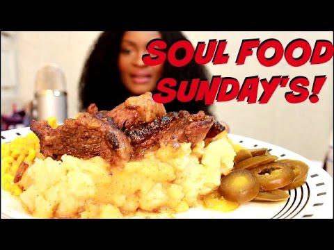 ASMR/MUKBANG: SOUL FOOD SUNDAYS! COOK WITH ME! EAT WITH ME! YUMMYBITESTV