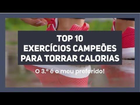 Top 10 Exercícios Campeões Para Torrar Calorias
