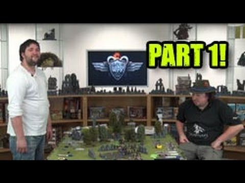 Khador Vs Everblight: The Armies Unleashed! Part One