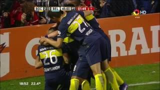 Boca Juniors 3-0 Belgrano - Fecha 2 Torneo Argentino 2016/17