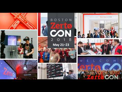 Embrace IT Resilience: ZertoCON 2018 Sneak Peek