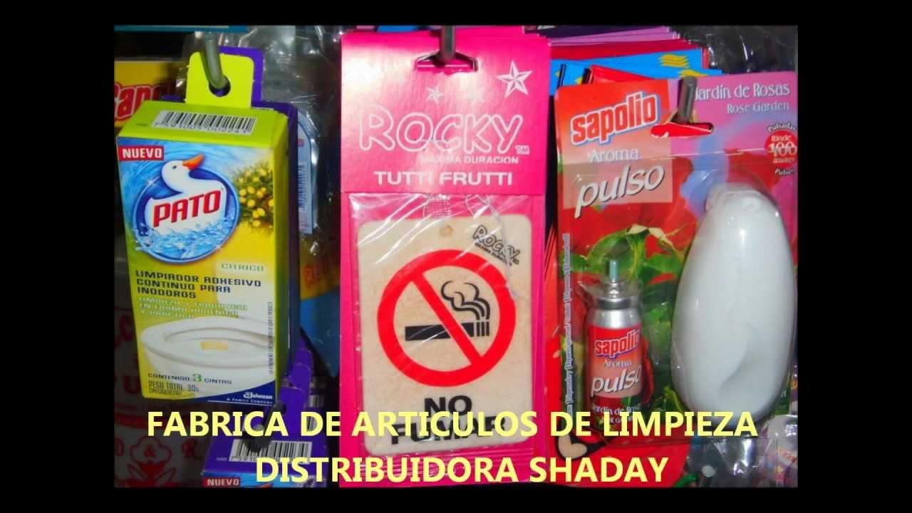 366833e35a40 FABRICA DE ARTICULOS DE LIMPIEZA DISTRIBUIDORA SHADAY 2 - YouTube