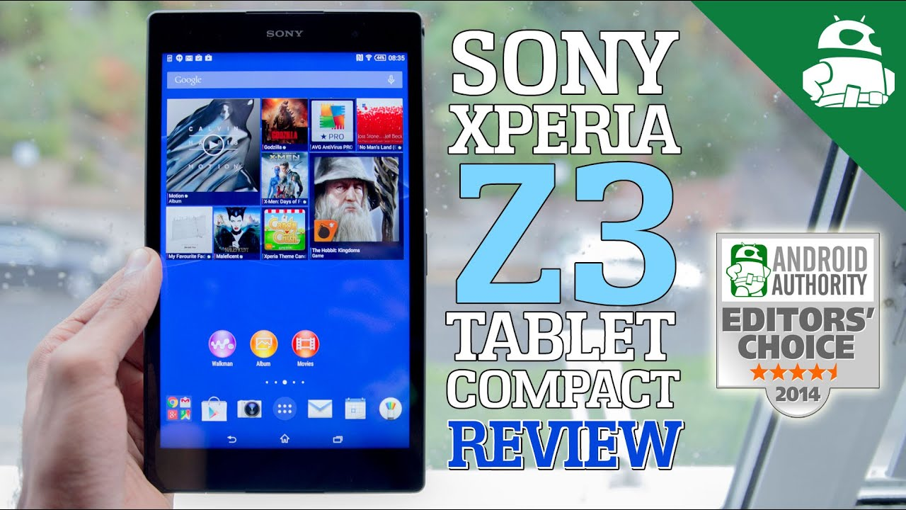 Sony Xperia Z3 Tablet Compact - Review