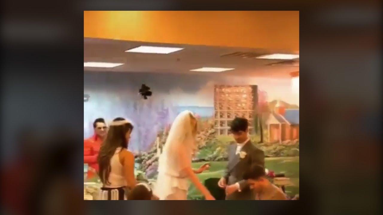 Watch: Priyanka Chopra was a bridesmaid at Sophie-Joe wedding