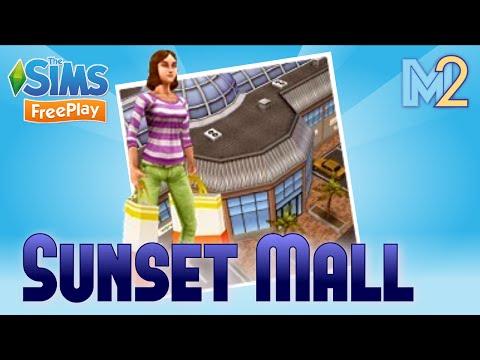 Sims FreePlay - Sunset Mall Quest (Tutorial & Walkthrough)
