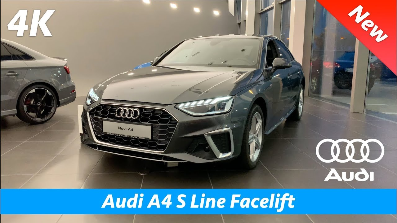 Audi A4 S Line 2020 Facelift First Quick Look In 4k Interior Exterior Day Night