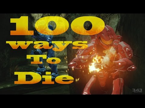 100 Ways To Die In Halo 2 Anniversary (Halo 2 Anniversary Machinima)