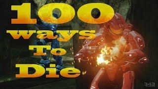 100 Ways To Die In Halo 2 Anniversary (Halo 2 Anniversary Machinima)