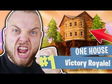 THE 1 HOUSE CHALLENGE!! - FORTNITE BATTLE ROYALE!!
