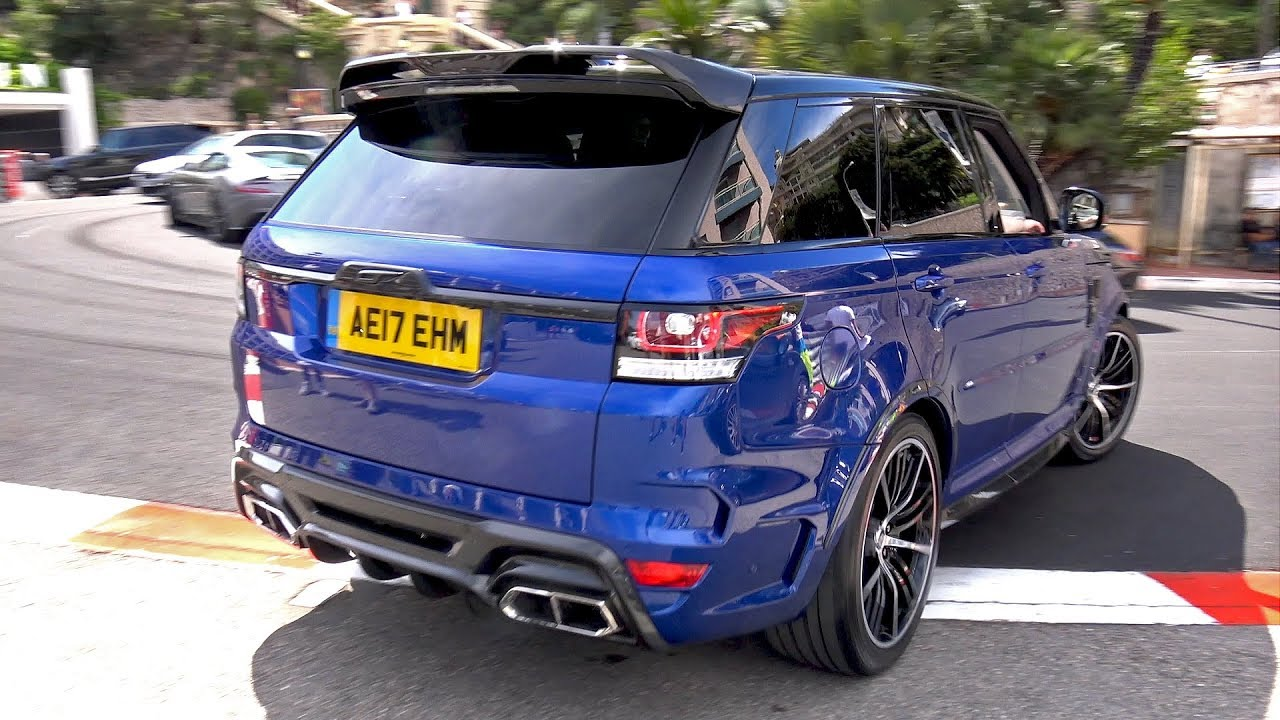 Land Rover Range Rover Overfinch Gt Svr Loud Revs Youtube
