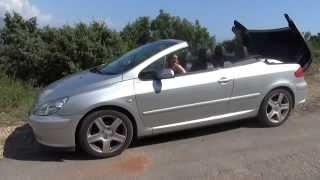 Обзор Peugeot 307 сс 2006 кабриолет  ★ Аренда авто в Черногории(Подробная статья