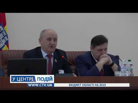 Телеканал C-TV: Бюджет області на 2019
