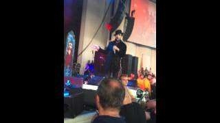 Marilyn Manson talking about my baby!!!! @PNC Bank Arts Center, NJ 7/29/15