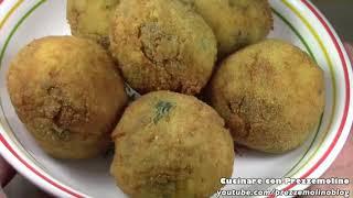 Arancini o Arancine siciliane ai Funghi bimby TM5 Ricetta vegetariana per Santa Lucia