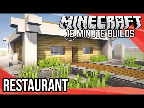 Minecraft 15-Minute Builds: Restaurant