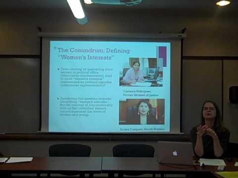 Professor Christina Ewig, Humphrey School of Public Affairs