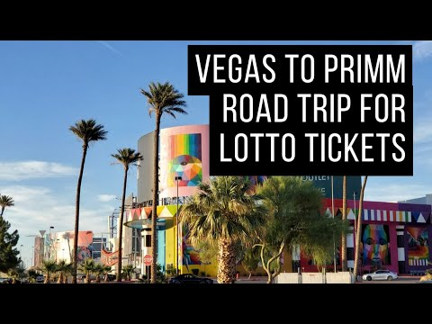 Road Trip From Las Vegas To Primm To Buy Lotto Tickets