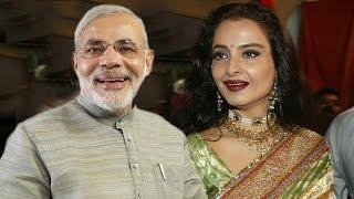 Narendra Modi, Rekha Named India's Hottest Vegetarian Celebs