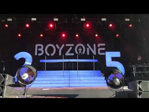 Boyzone A different Beat York Racecourse 28/7/2018