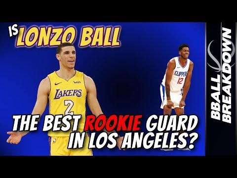 Is LONZO BALL The Best Rookie Guard In Los Angeles?