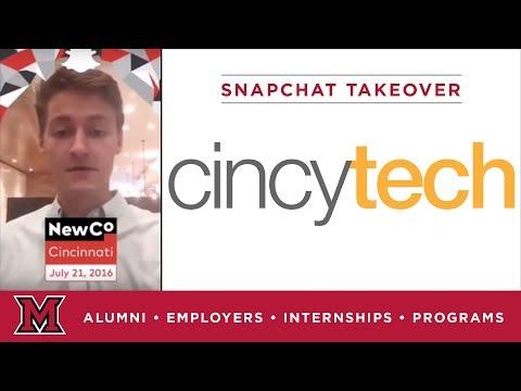 Max's Economics Internship for Cincy Tech in Cincinnati, OH