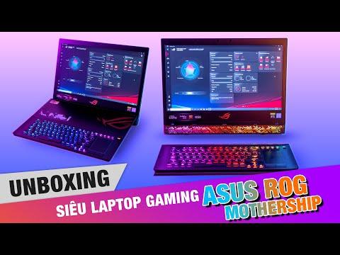 Trên tay Siêu Tàu Mẹ - Laptop Gaming Asus ROG Mothership !!! Chỉ 180 củ khoai.