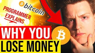 😱 WHY YOU KEEP LOSING MONEY IN CRYPTO... Programmer explains