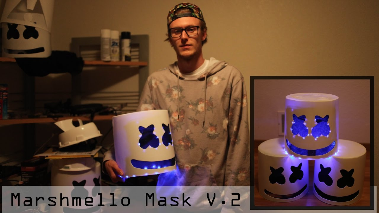Marshmello Helmet Mask Turtorial Complete With Steps V 2