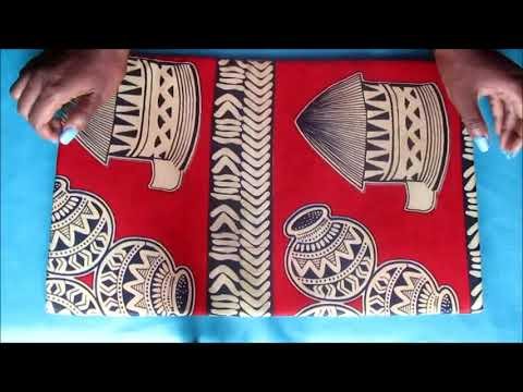 Beautarie Home Ep.4: DIY Fabric Wall Art Afican print.Ankara