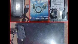 HD EXTERNO CASEIRO   [case capa de fita k7]