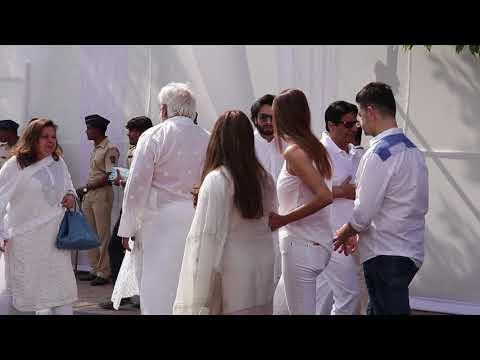 Kajol, Jacqueline, Hema Arrive At Celebration Sports Club To Bid Goodbye To Sridevi