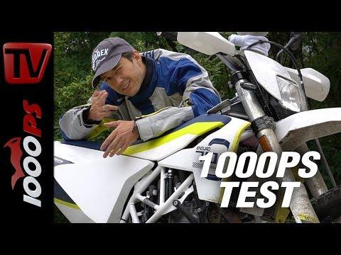 Husqvarna 701 Enduro oder Supermoto? Test 2017 Reifen, Alltagstauglichkeit, Gewicht, Wheelie