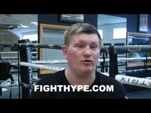 RICKY HATTON ON MAYWEATHER VS. MCGREGOR: 'CONOR MCGREGOR'S NOT GOING TO HIT HIM'