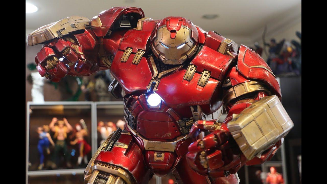3d Interactive Wallpaper Hulkbuster Statue By Imaginarium Art Youtube