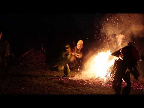 Baning Tribe Fire Dancers, Papua New Guinea