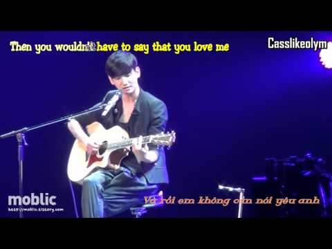 [HD] [Vietsub + Kara] More than words - Changmin (TVXQ) live