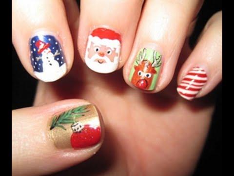 Imagenes de unas pintadas de navidad