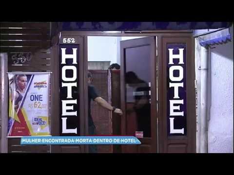 Mulher é encontrada morta dentro de hotel