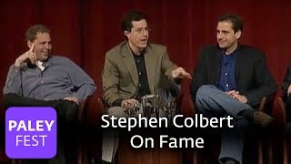 Stephen Colbert On Fame and The Daily Show