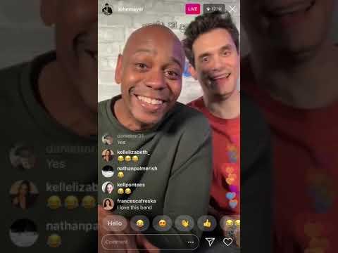 Download Current Mood S02 E06 - John Mayer Instagram Live (3/10/2019) Guest Dave Chappelle & Daniel Caesar