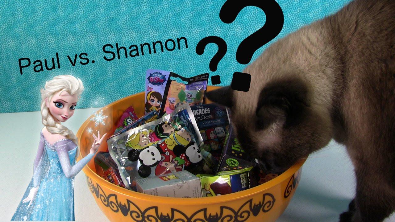 Paul Vs Shannon Mystery Blind Bag Picks Disney Tsum Mlp