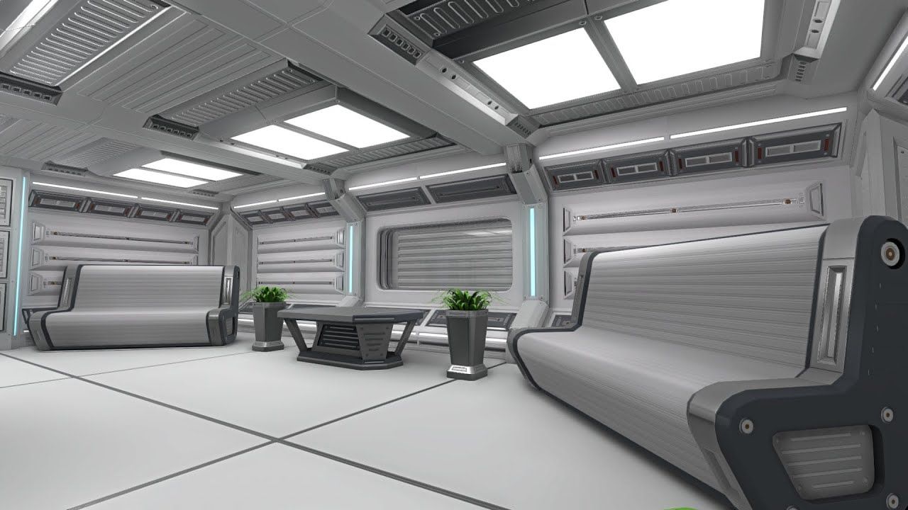 Sci fi interior in unity 5 youtube for Unity 3d room design