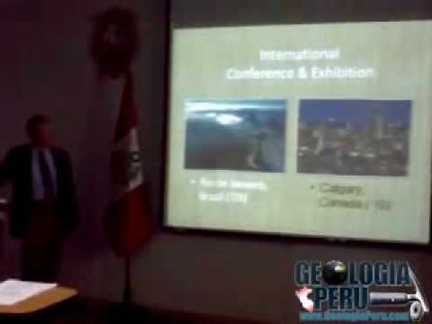 "Visita de la American Association of Petroleum Geologist ""AAPG"" en Lima - Peru v3"