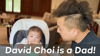 David Choi is Officially a Dad