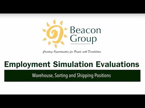 Employment Simulation Evaluations / Warehouse, Sorting and Shipping Positions